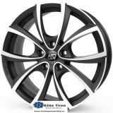 Jante aliaj MSW 27 MATT DARK TITANIUM FULL POLISHED 7,5X17 5X112 ET48