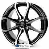 Jante aliaj MSW X4 BLACK FULL POLISHED 5.5X14 4X108 ET24 65,06